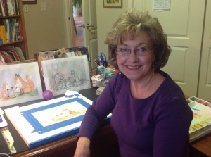 Linda, writer & children's storybook illustrator