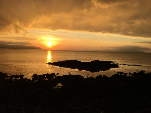 sunset-over-port-stuart-ni